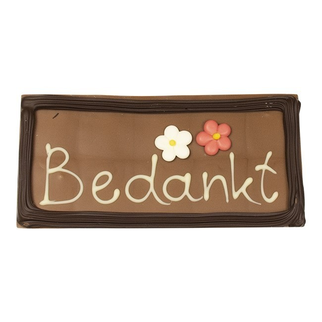 "losse-thee-tea4you-Chocolade tablet ""Bedankt""-33"